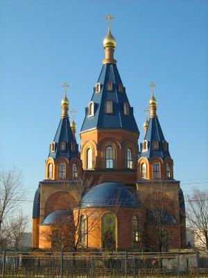 Спас на Рубеже: Храм Преображения Господня в Лигово